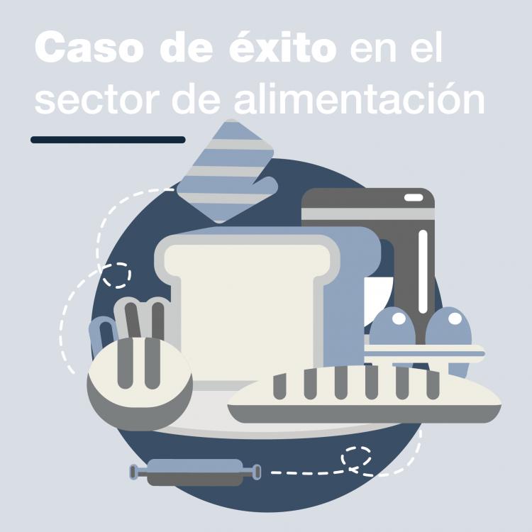 productividad y la rentabilidad en empresa de alimentación