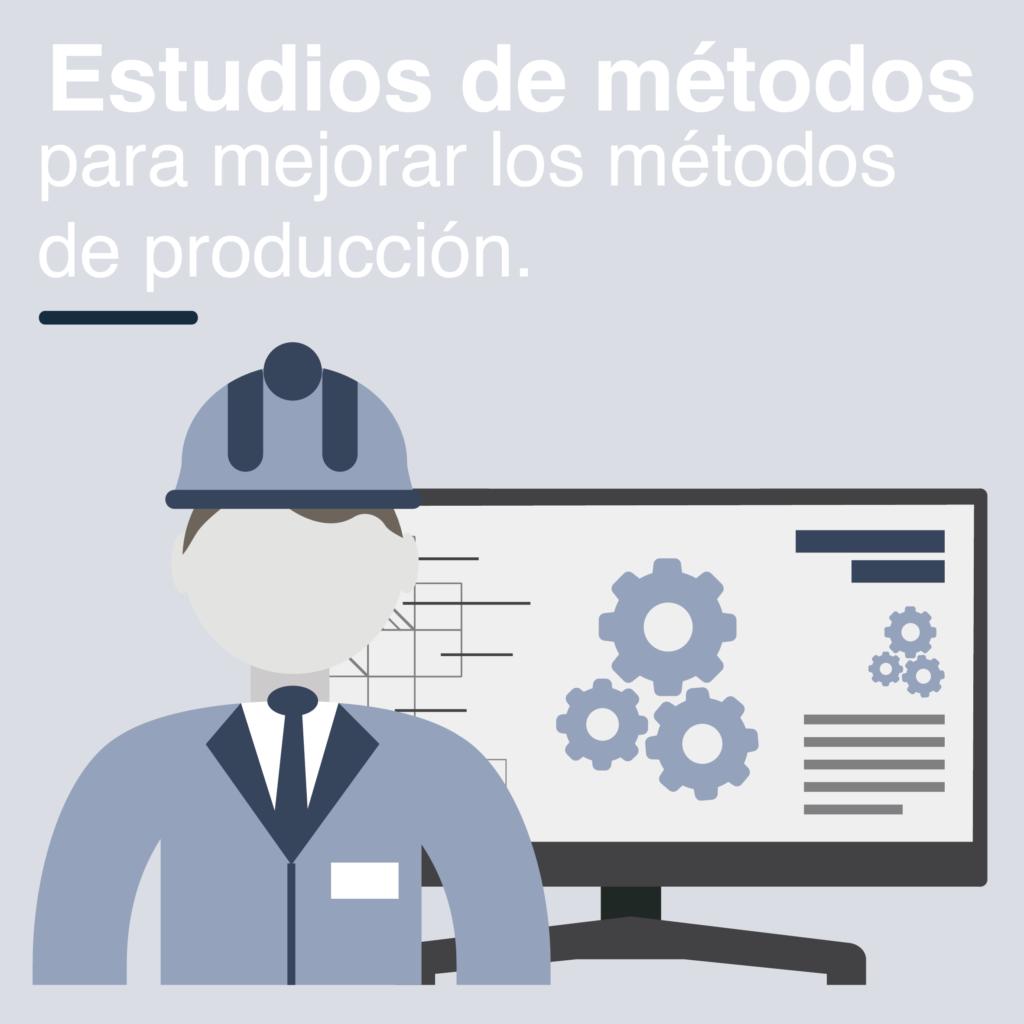 Estudios de métodos de producción de Resultae