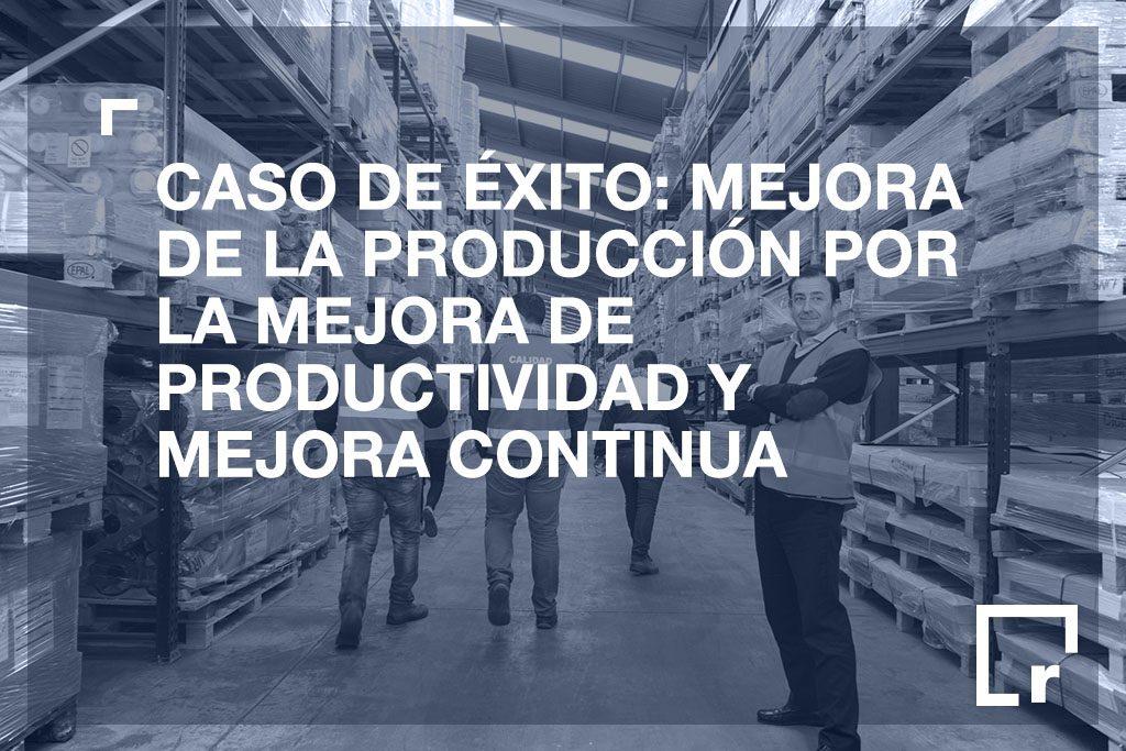 Mejora continua y de la productividad